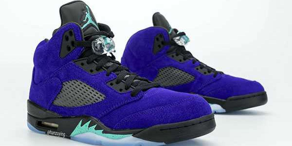 """New 2020 Air Jordan 5 """"Alternate Grape"""" 136027-500 to release on July 7th"""